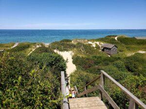 steps beach | Nantucket, MA