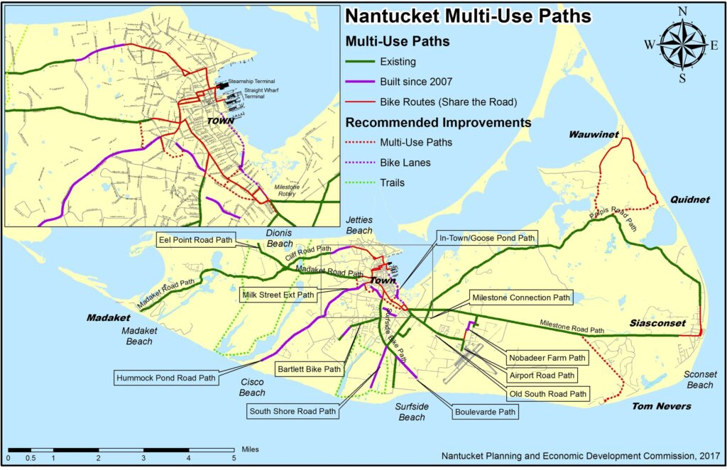 Bike Paths | Nantucket, MA