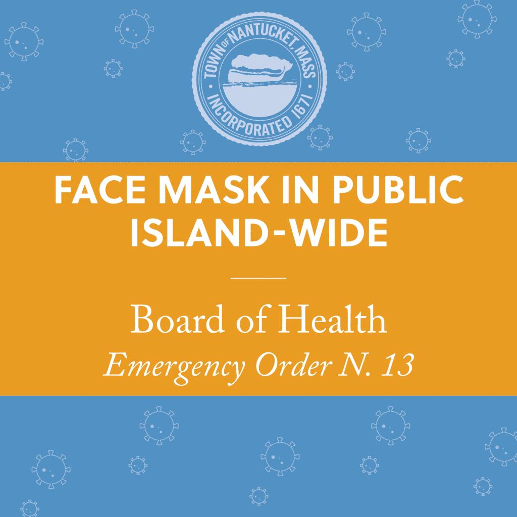 Face Mask In Public Island-Wide | Nantucket, MA