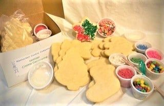 exploded view cookie decorating kit