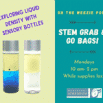 STEM Grab & Go Bag: Sensory Bottles | Nantucket, MA