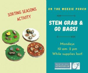 STEM Grab & Go Bags: Sorting Seasons Activity | Nantucket, MA