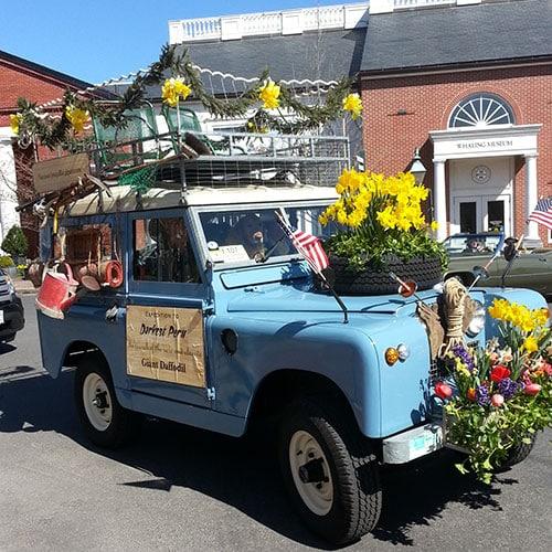 Daffodil Car | Nantucket, MA