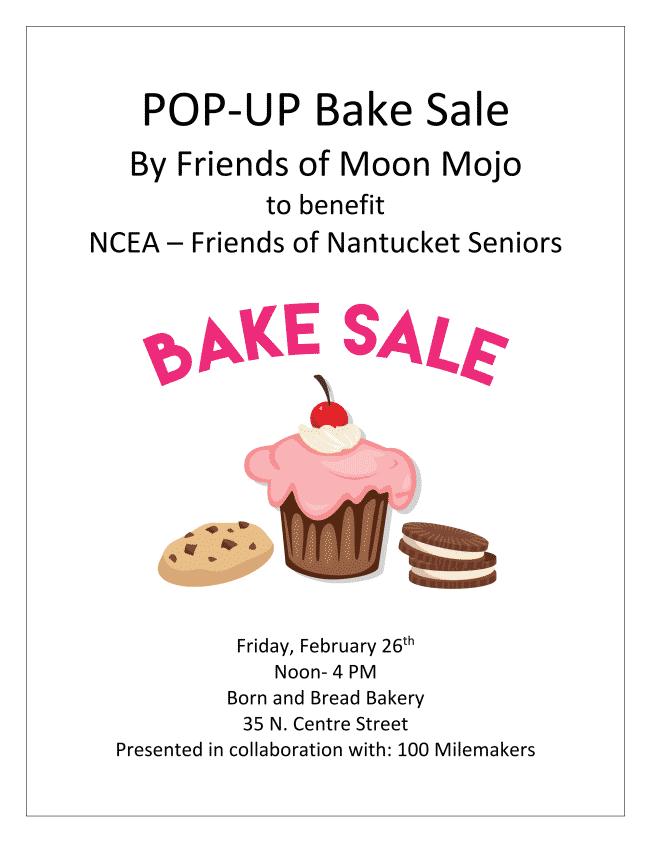 Pop-up Bake Sale | Nantucket, MA