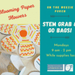 STEM Grab & Go Bag: Blooming Paper Flowers