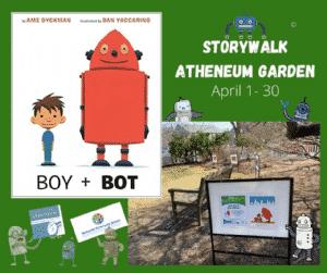 StoryWalk: Boy + Bot