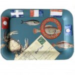 Decoupage Tin Tray with Mary Emery Lacoursiere