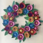 Story & Craft Grab & Go Bag: Egg Carton Wreath