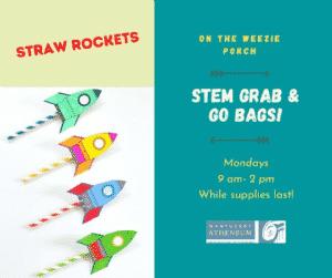STEM Grab & Go Bag: Straw Rockets