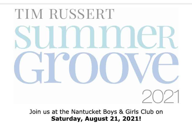 Tim Russert Summer Groove 2021