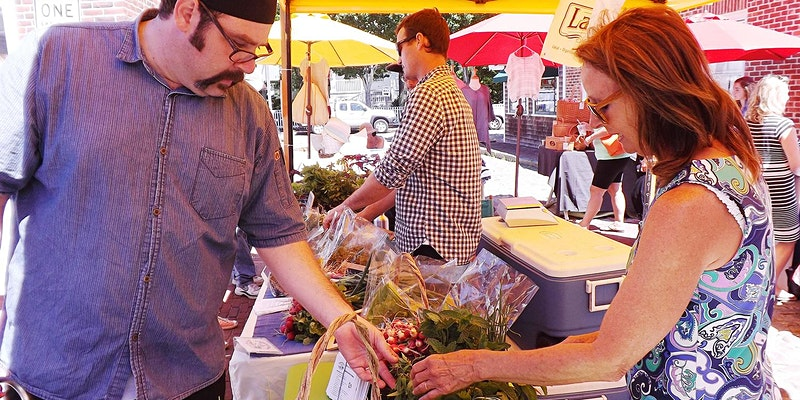 Join Chef Greg to Walk the Farmer's Market