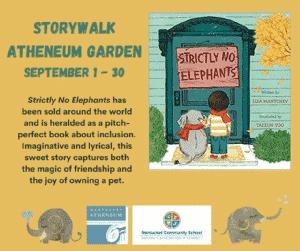 StoryWalk: Strictly No Elephants
