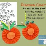 Pumpkin Craft Grab & Go Bag