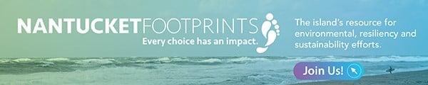 Nantucket Foot Prints Banner Ad