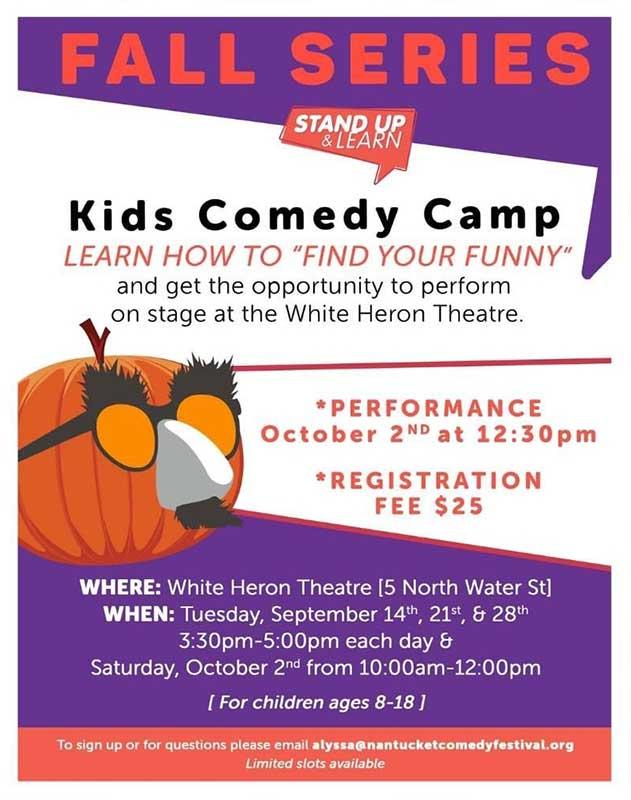 Kids Comedy Camp